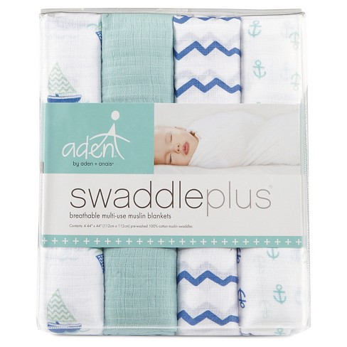 aden and anais muslin blankets - An essential item for new parents. Multi-use, soft, and handy for an assortment of infant needs.