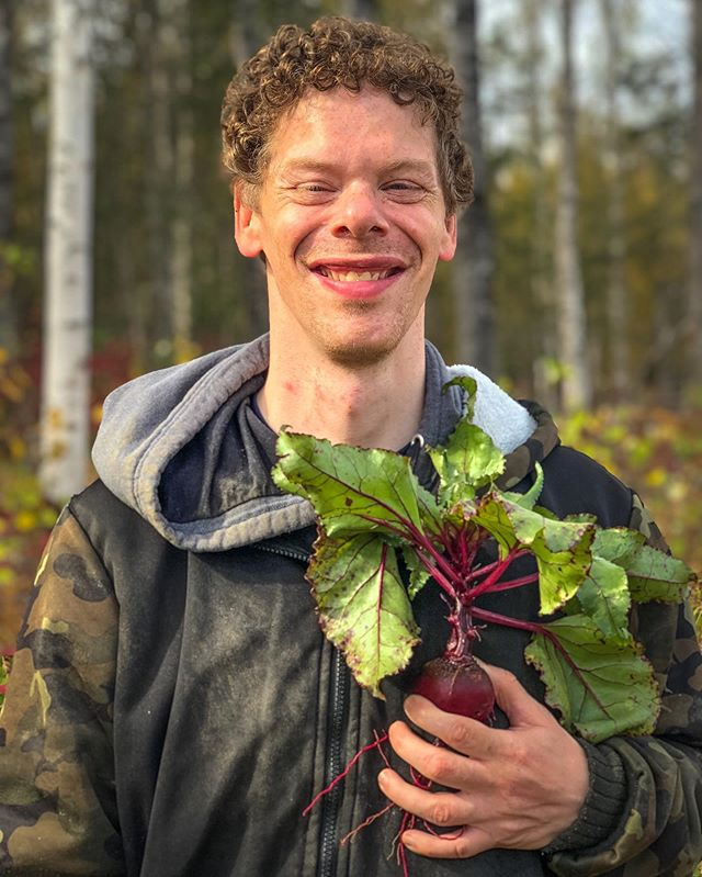 Our employees are the heart beet of G2A. Learn more about our supported employment program at g2arctic.org. . . . . . #beetit #bear #beets #battlestargalactica #myheartbeetsforyou #alaskagrown #alaska #agriculture #sustainability #acampforgrowth #abilitiesnotdisabilities
