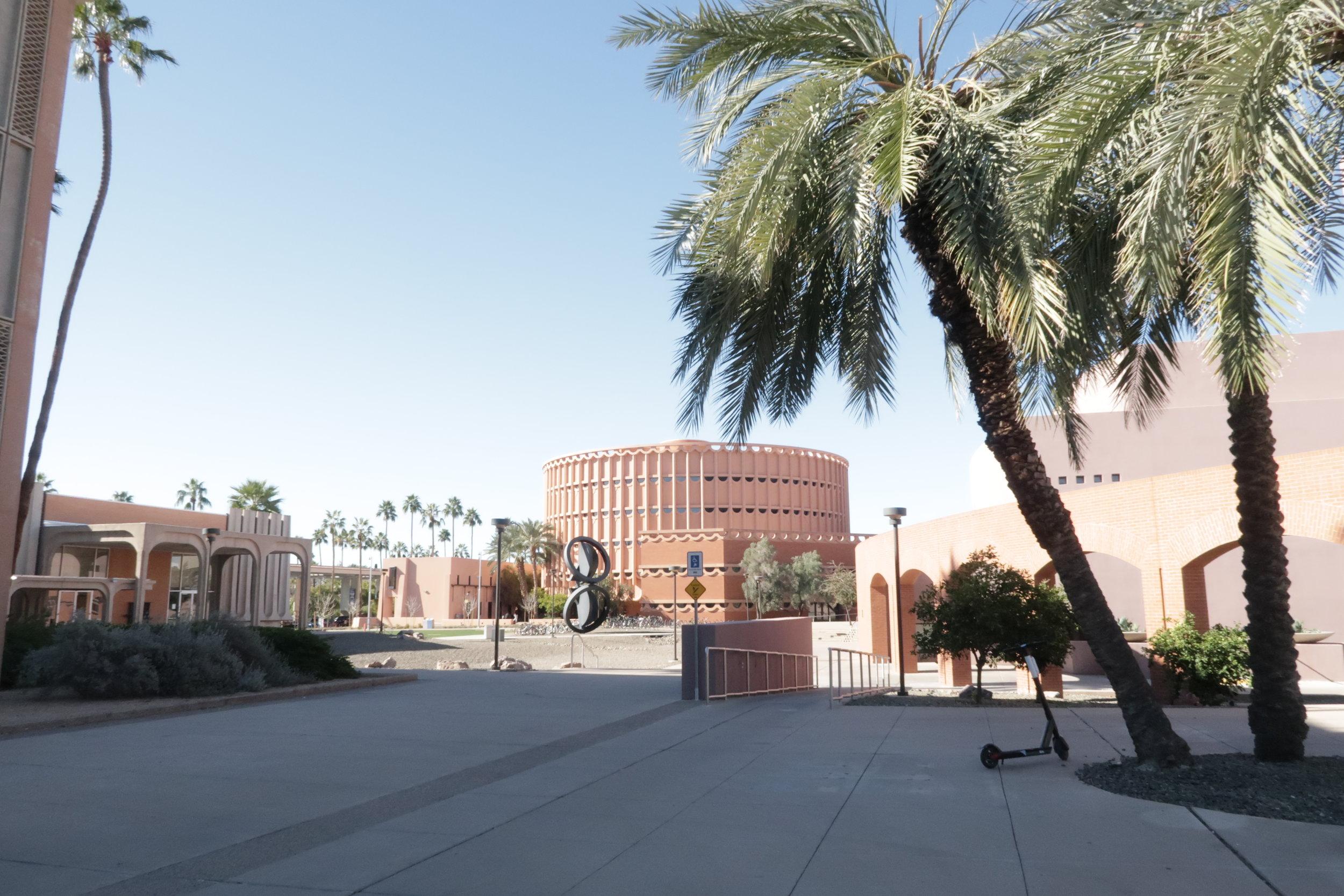 Frank Lloyd Wright Building on ASU Campus