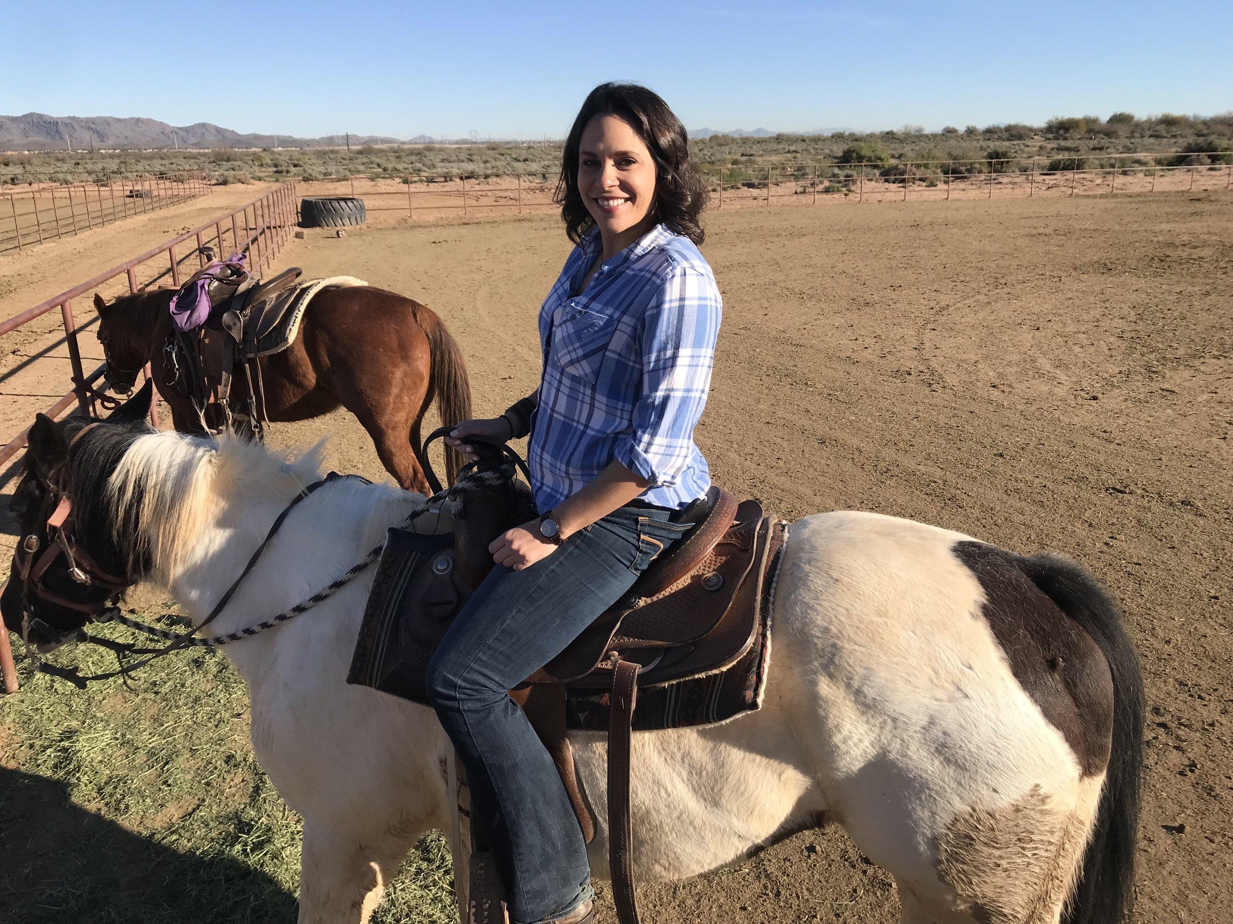 Happiest on horseback