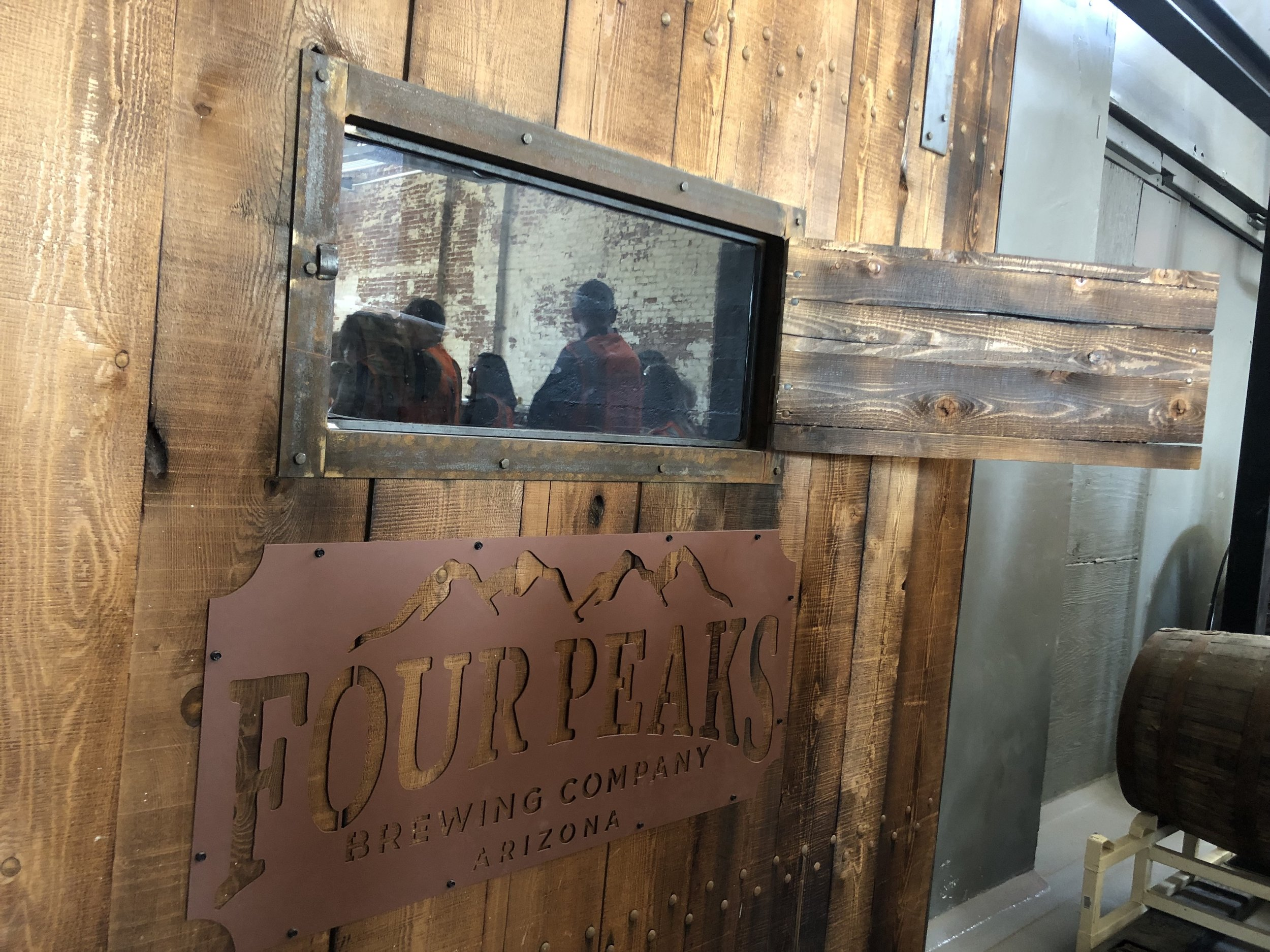 Four Peaks Brewing Company Tour