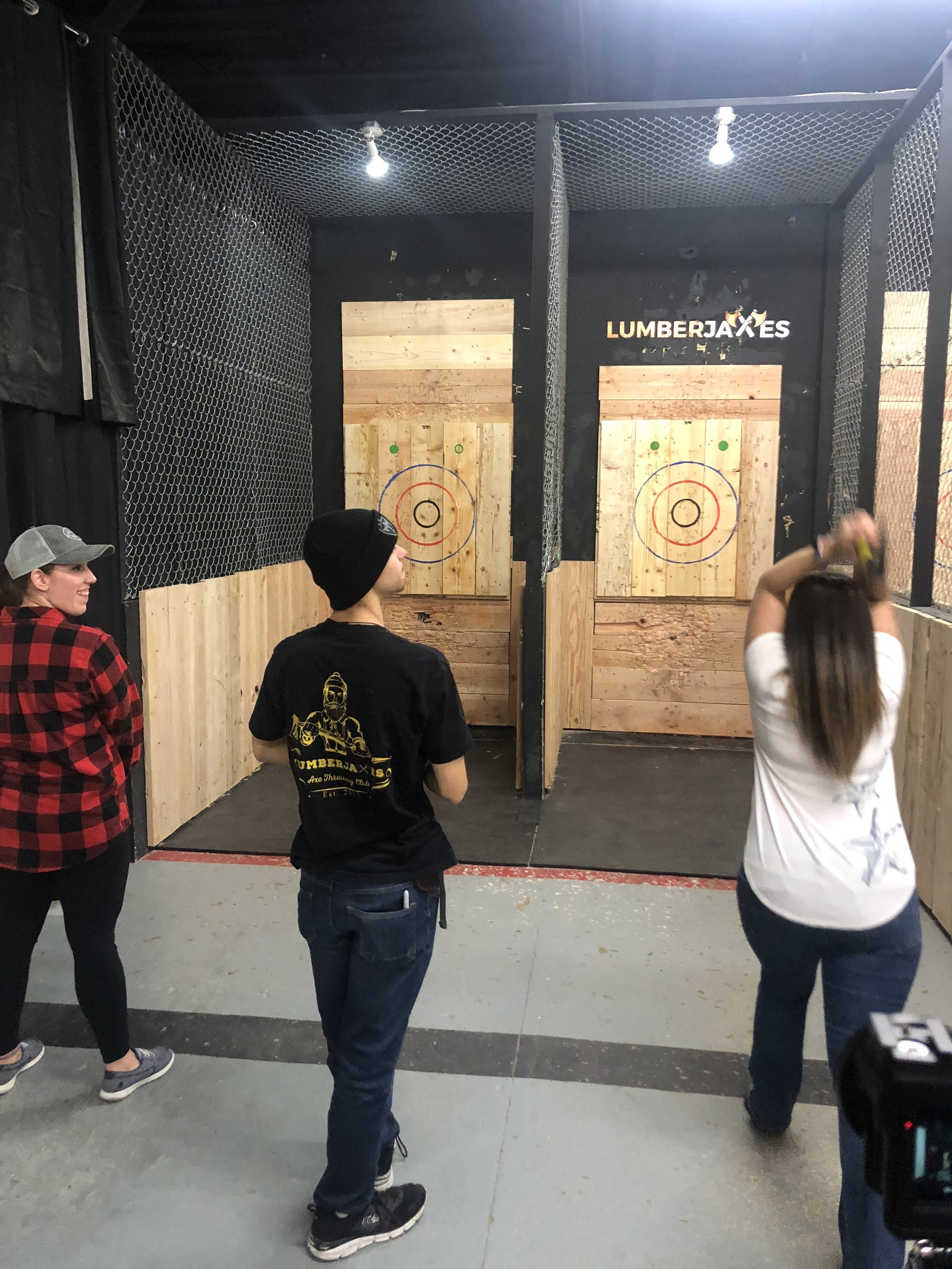 Lumberjaxes Axe Throwing