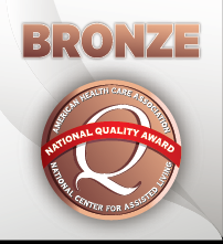 Bronze Quality Award - Grand View was one of only 450 recipients of the American Health Care Association's nation-wide Bronze Award in 2010. This is the first in a 3 step process to improve quality care.We are pleased that a large number of our employees and volunteers have also received Wisconsin Health Care Association's Shining Star Awards.