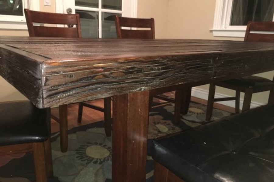 Rustic Dining Table Ambrose825crafts, Rustic Dining Room Table