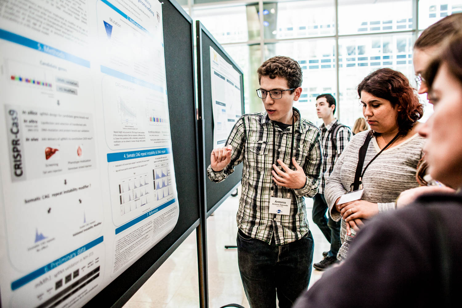 share your work - Present your work during the Sunday poster session and get feedback on your work and ideas for future directions