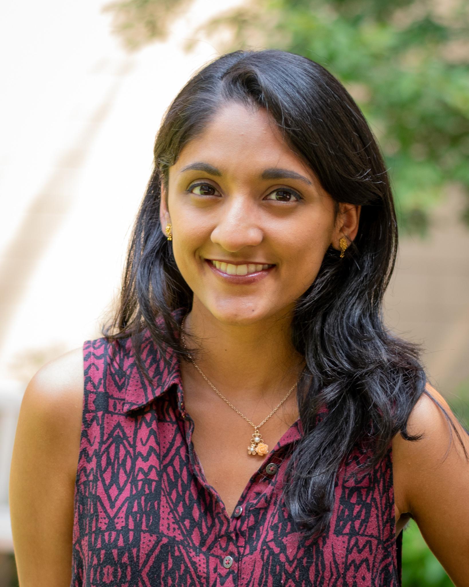 Rumya Raghavan  Graduate Student