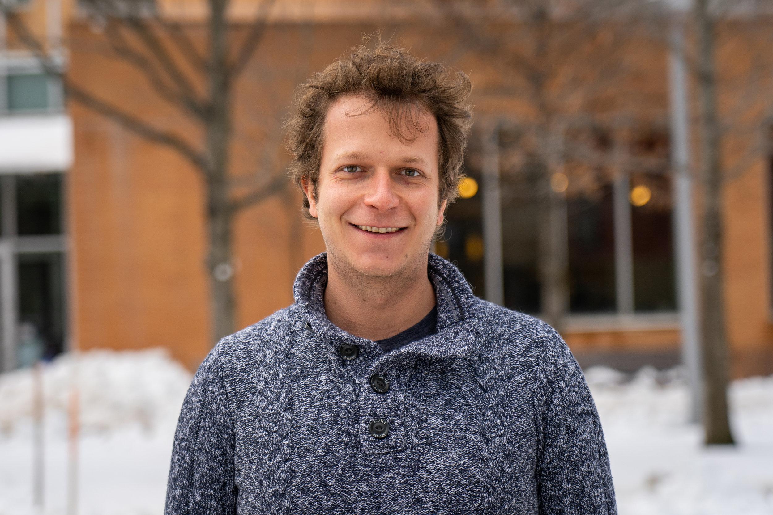 Daniel Strebinger  Postdoctoral Fellow