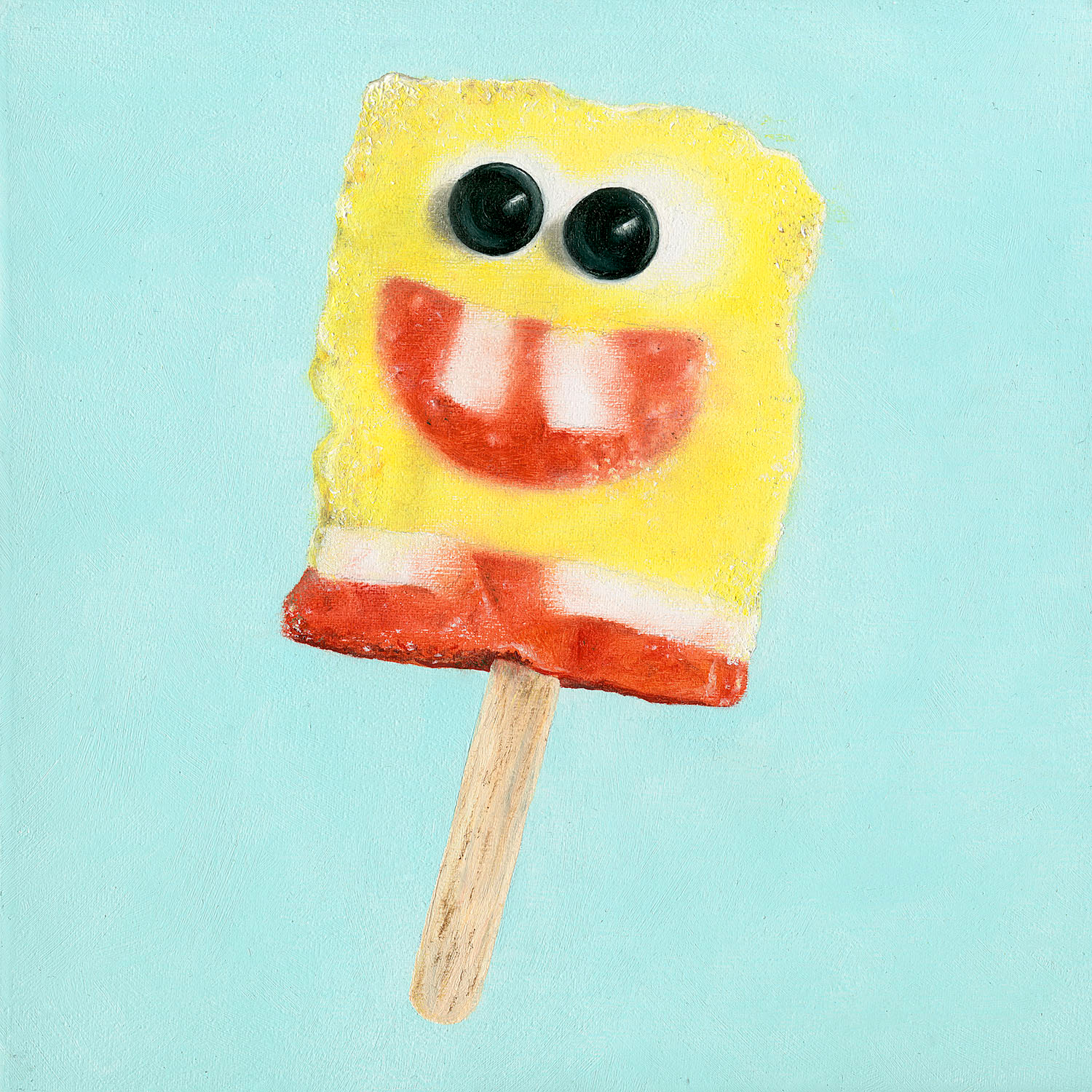 MILLENNIAL ICONS: SpongBob Popsicle