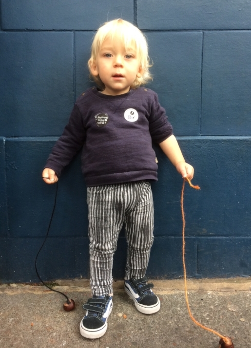 Arlo, the Peckham Conker under 5's champion.