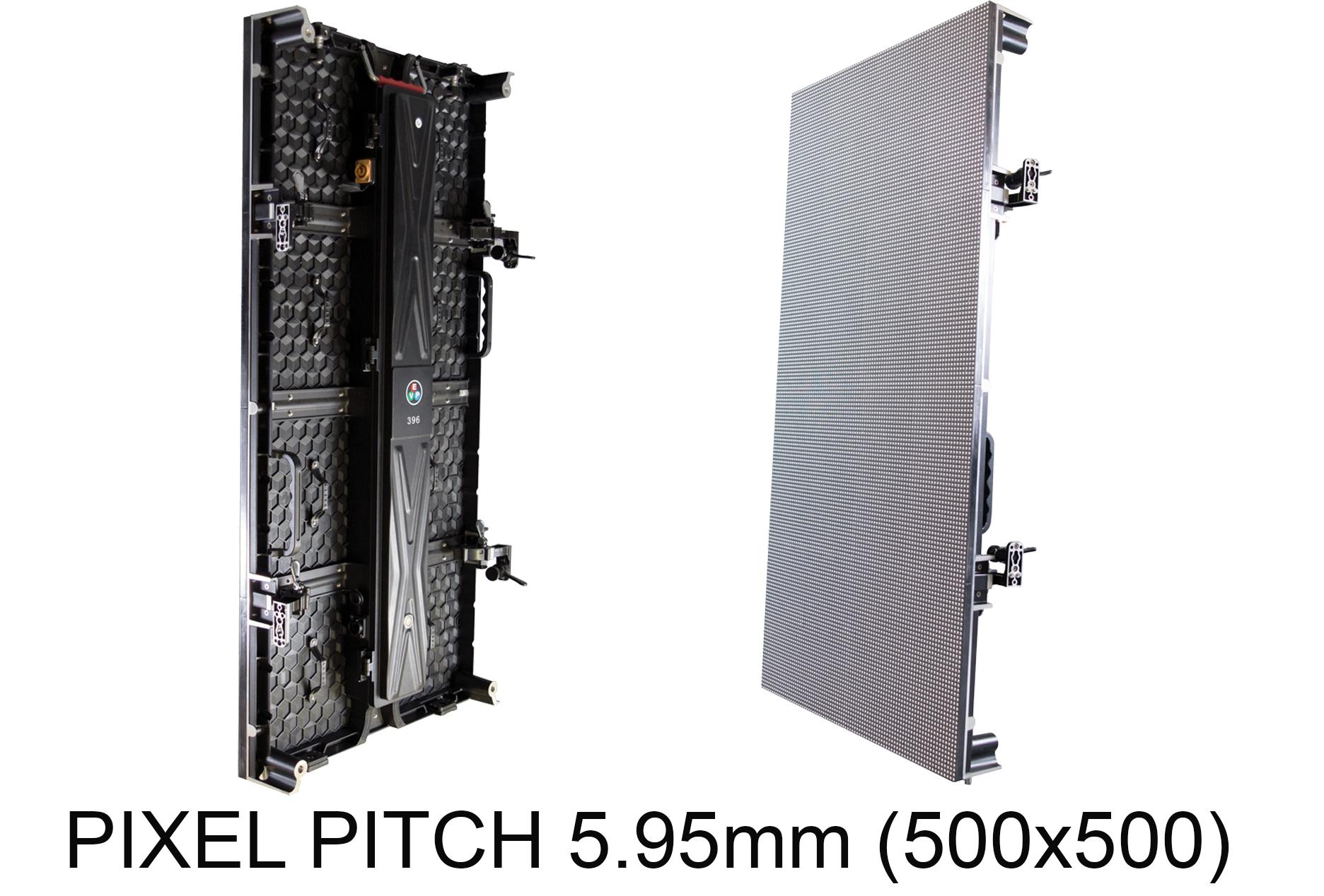PIXEL PITCH 5.95mm (500x500) -