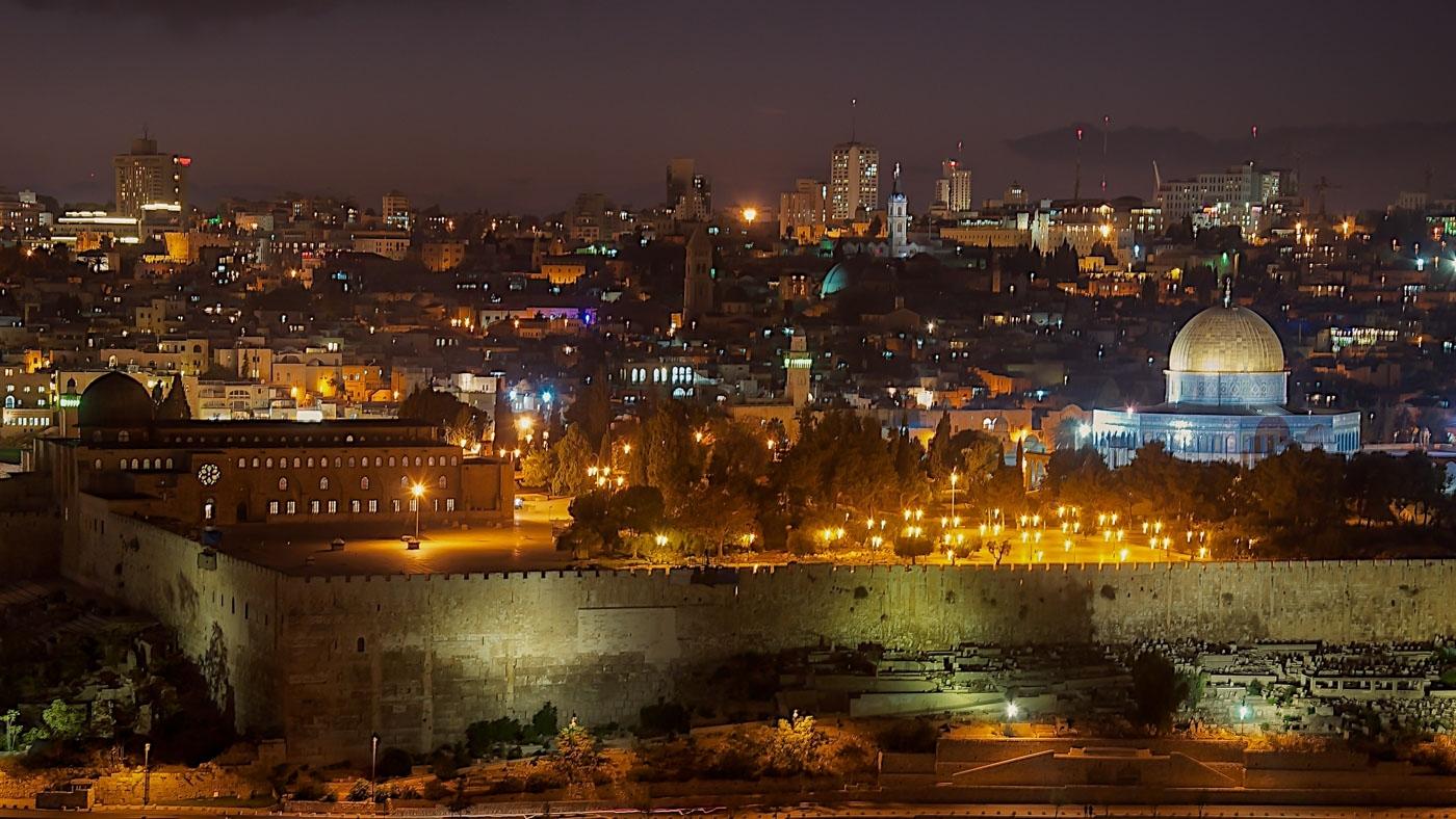 Jerusalem, Old and New City