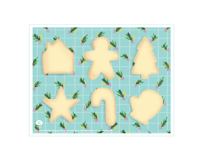 Sugar Cookie Play Mat