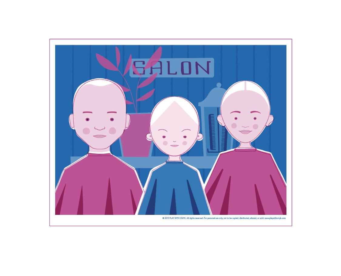 Salon Play Mat