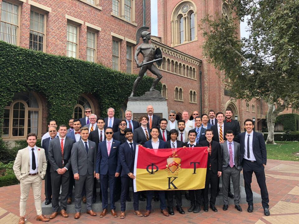 University of Southern California's Pi chapter colonization ceremony