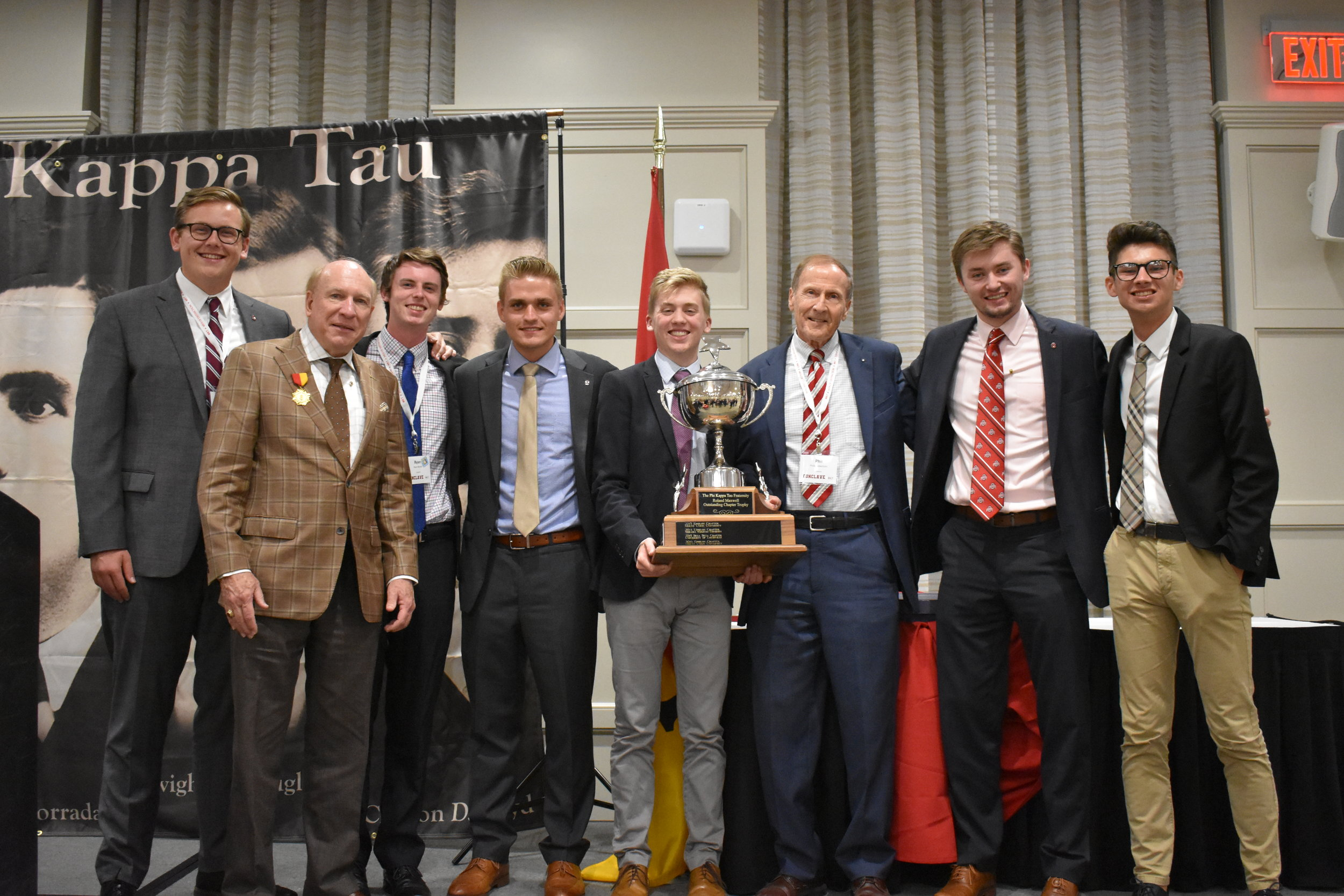 2019 Maxwell Award winners - Gamma chapter at Ohio State University