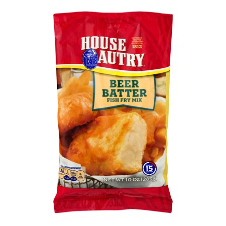 House Autry Beer Batter Fish Fry Mix -