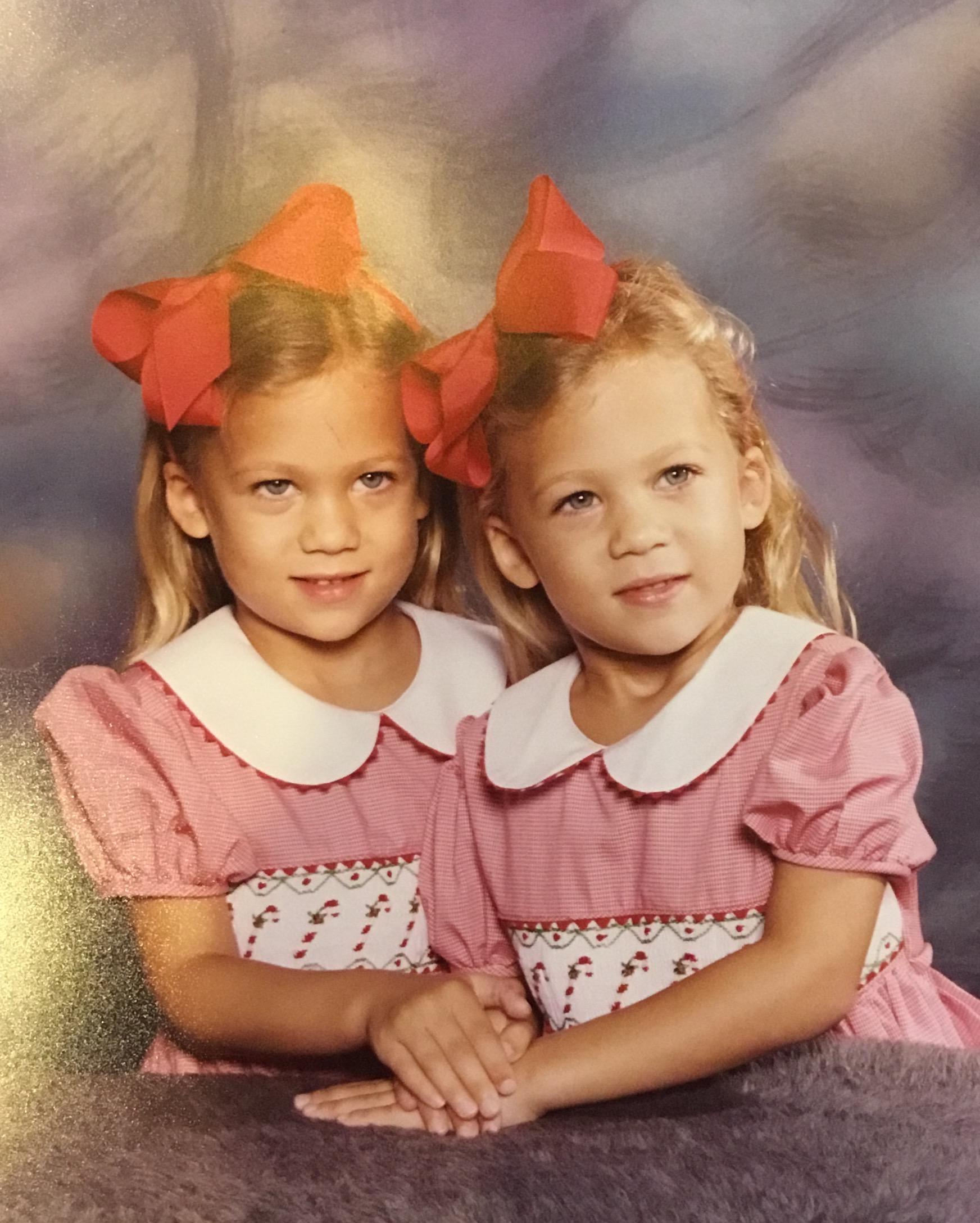 Baby Emily and Amanda :)