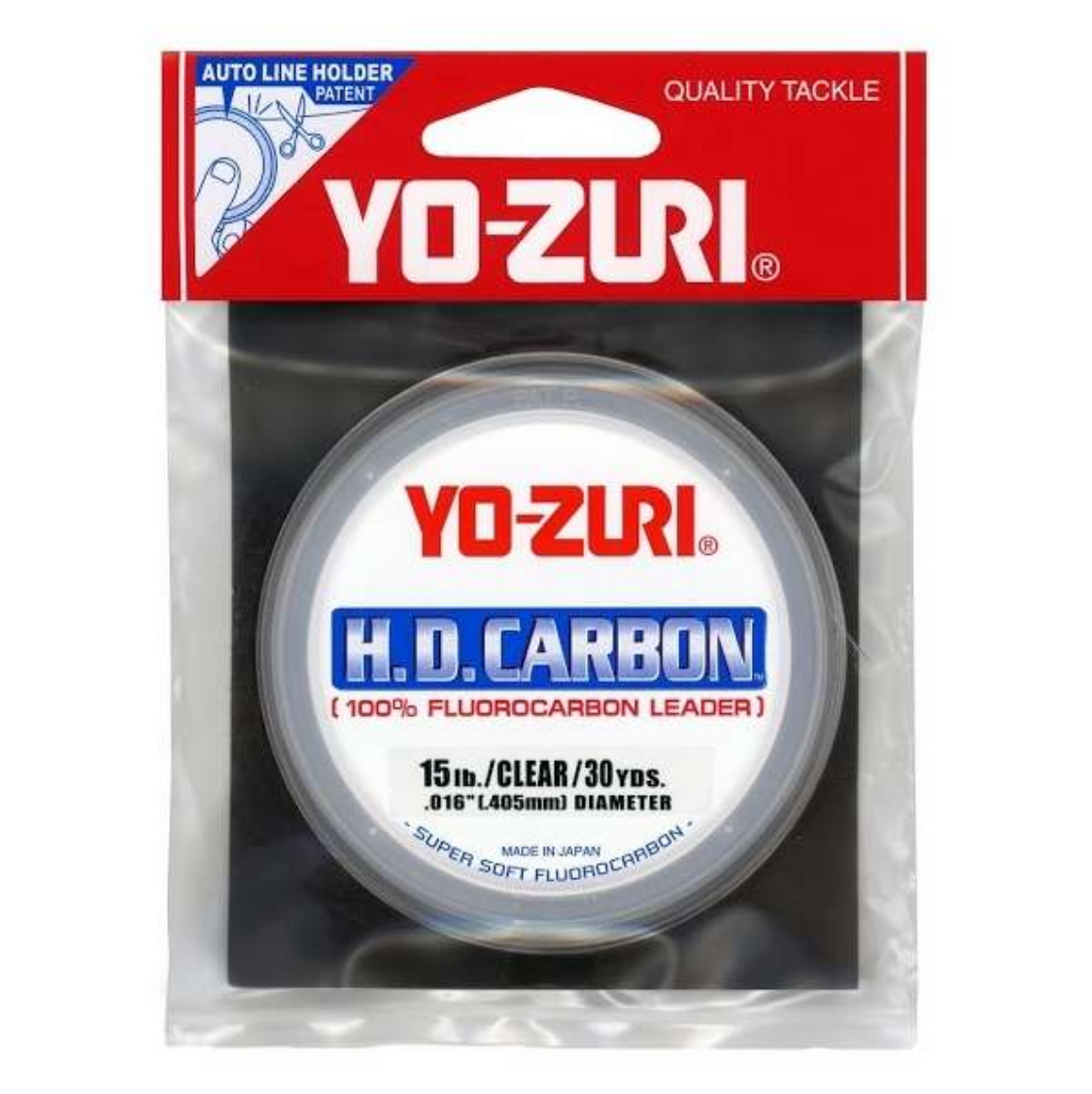 Yo-Zuri 15# Leader - We use 10-15 ft of leader