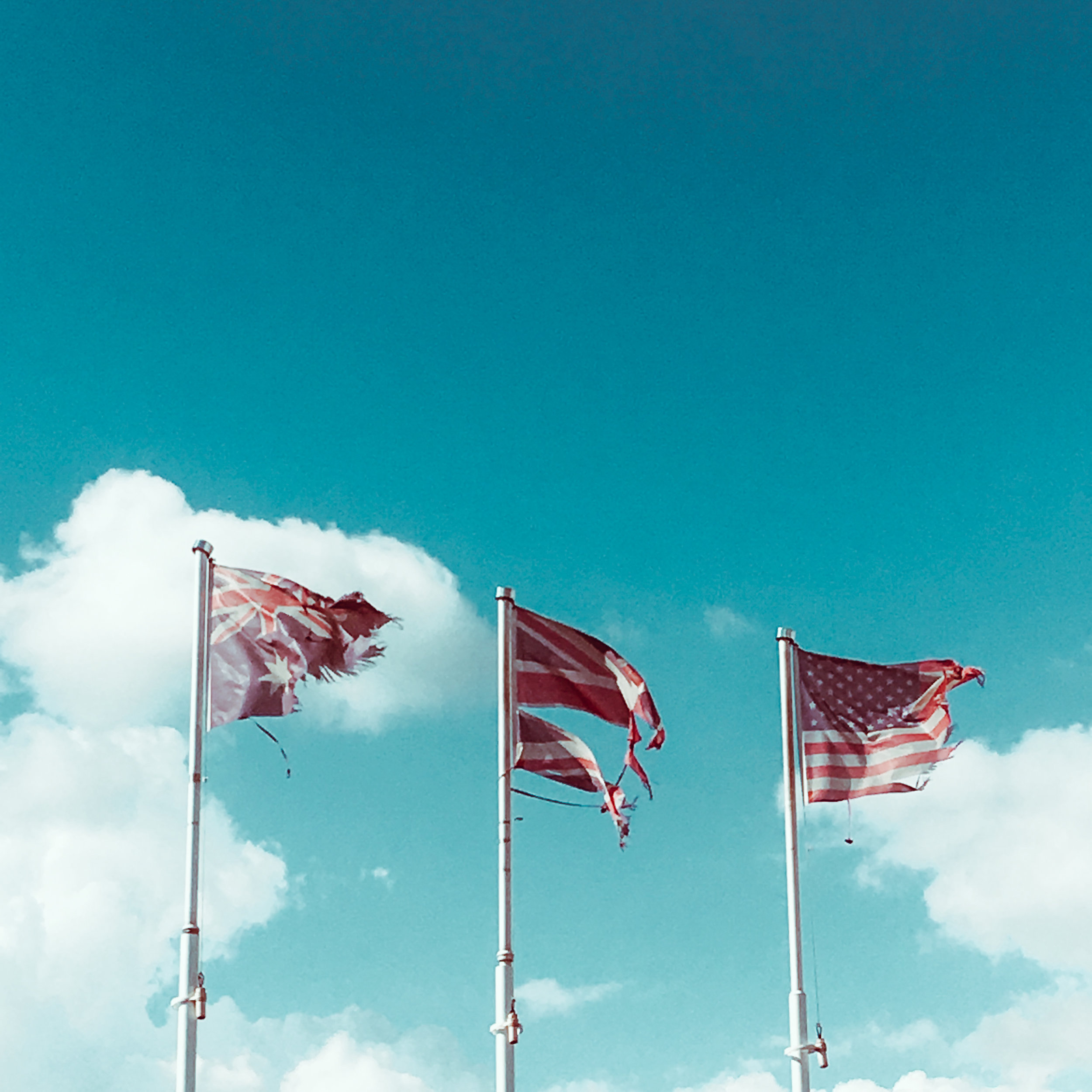 3 flags