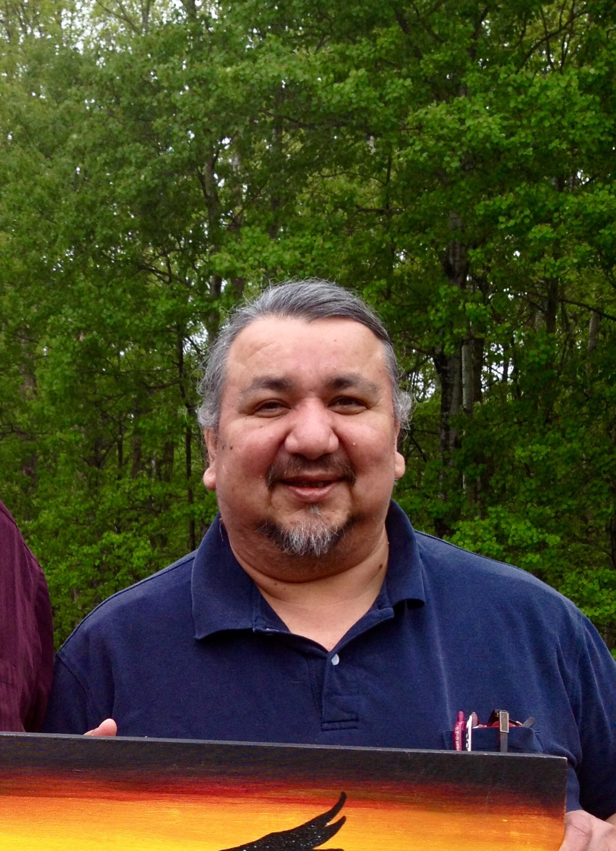 DALE GREENE - Bedonahkwaad (Dale Greene) works with the Leech Lake Band of Ojibwe in a number of different areas, including 1855 Treaty Authority, Secretary-Treasury Office, Legal Office, Domestic Abuse Re-Education, Child Welfare, and Bamenim Anishinaabeg' Juvenile Justice Re-Entry. He has previously worked in K-12 education administration and served in the US Navy. He maintains an active presence in the community through cultural teaching, drumming, and education about treaties and federal Indian laws and policies.