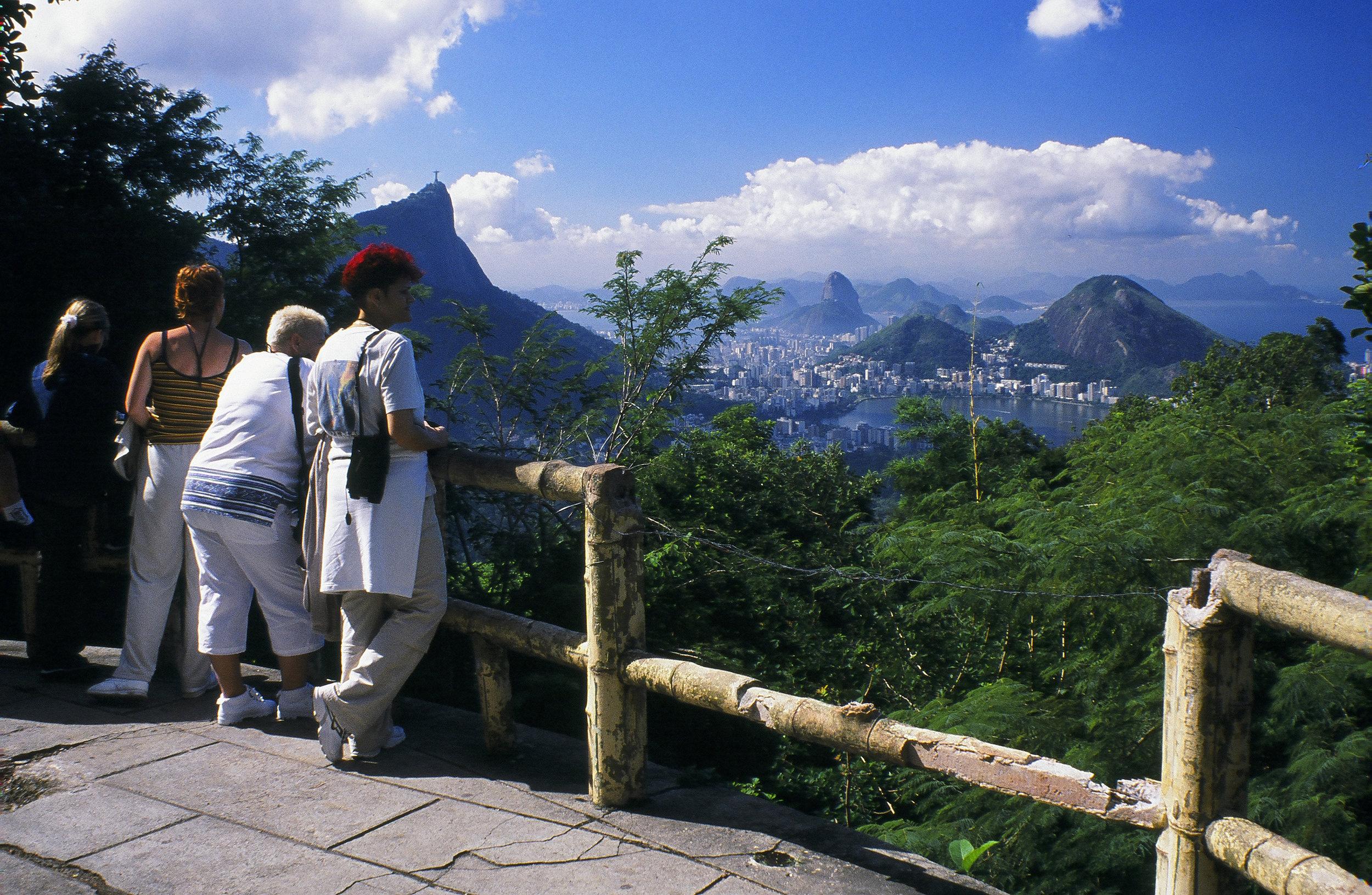 An urban rainforest, Tijuca National Park, Rio de Janeiro, Brazil