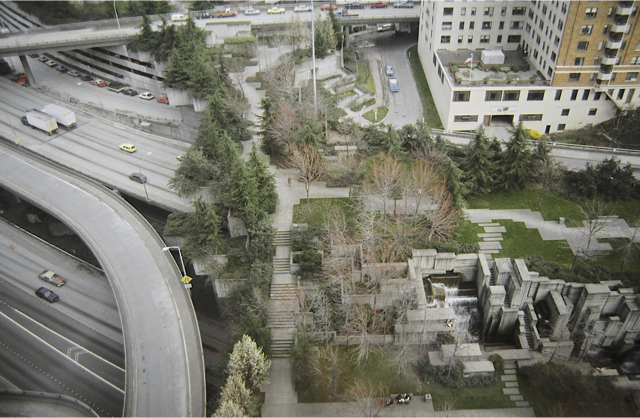 Freeway Park, Seattle, Washington