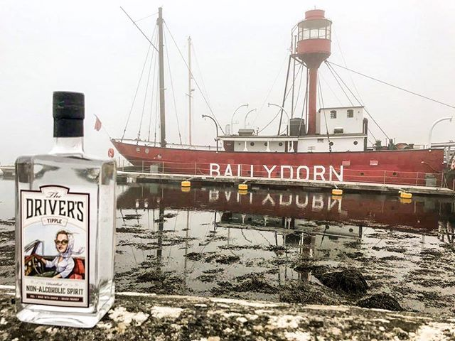The latest in #TippleTravels the intrepid Ophelia has been spotted on Strangford Lough near Killinchy, Newtownards, Northern Ireland! Cheers to our Tippling friends there, and have a happy Friday, all! 😇🍀🍸 . . . #thedriverstipple #designateddriver #tipplepics #loveireland #nonalcoholic #mocktails #distilledspirits #botanicals