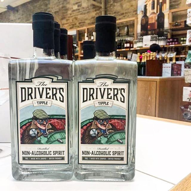 All lined up looking smart and proud on the shelves @blenheimpalace Shop, part of their fine, artisan and local produce offerings! . . . #thedriverstipple #nonalcoholic #distilledspirits #distilled #supportlocal #craftdrinks #designateddriver #nondrinker #teetotal #healthylifestyle #ginlovers #mocktails #sundaymotivation