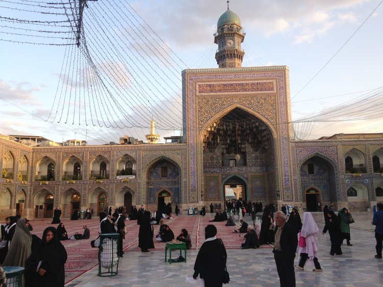 Shrine of Imam Reza, photo by author, May, 2018