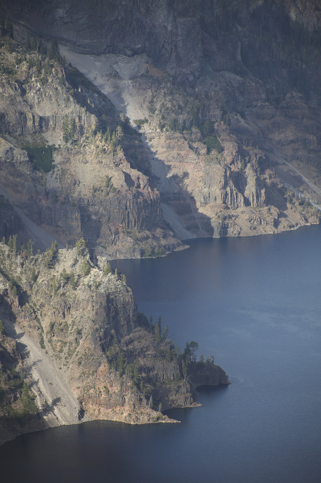 Crater Lake Wall