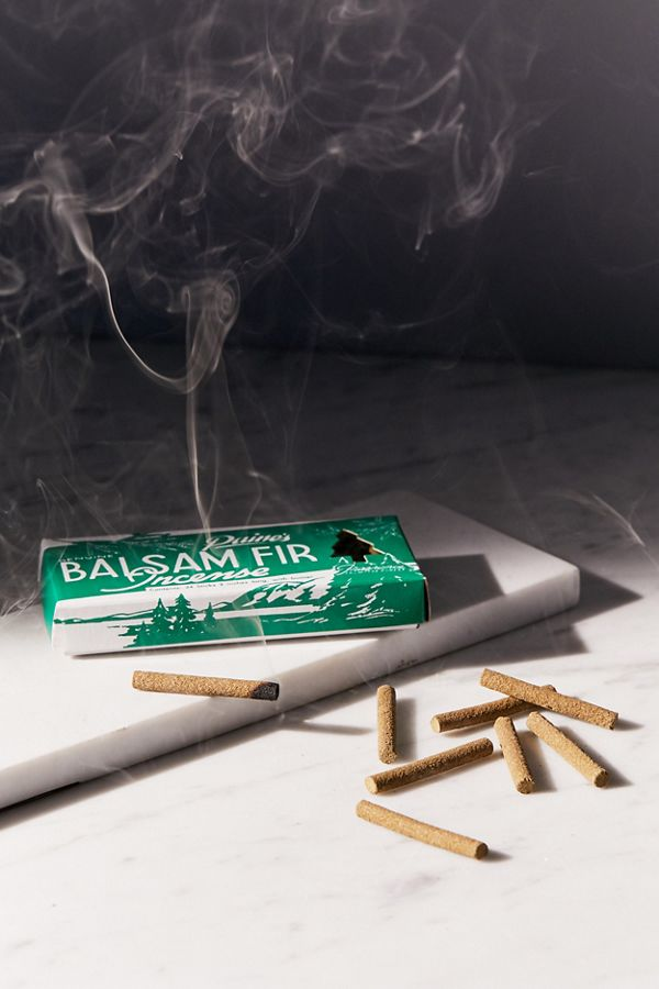 Paine's Balsam Fir Incense - Give the gift of an apartment that smells like a smoky cabin in New England. From an 85-year old company also in Maine. Comes with a wood stand.
