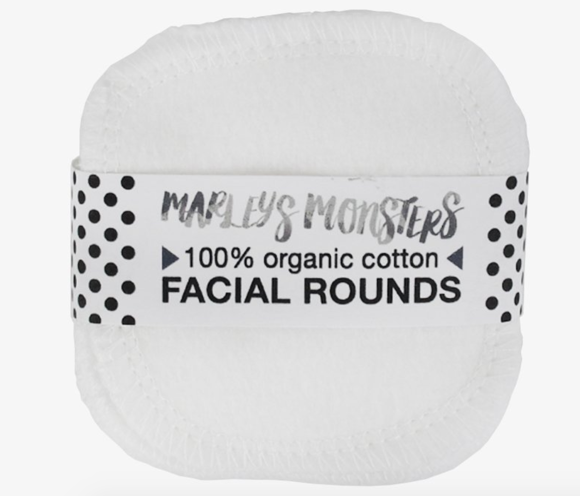 Marley's Monsters Organic Cotton Facial Rounds - This seems like an obvious switch to make for 2019. Disposable cotton rounds are passé. Once my disposable ones run out, I'm going to try these.