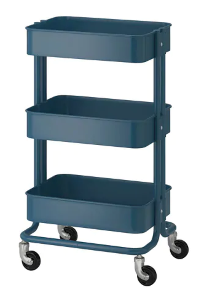 RÅSKOG Utility Cart - This cart gets rave reviews and I can see why. It would be a storage workhorse in a tiny kitchen.