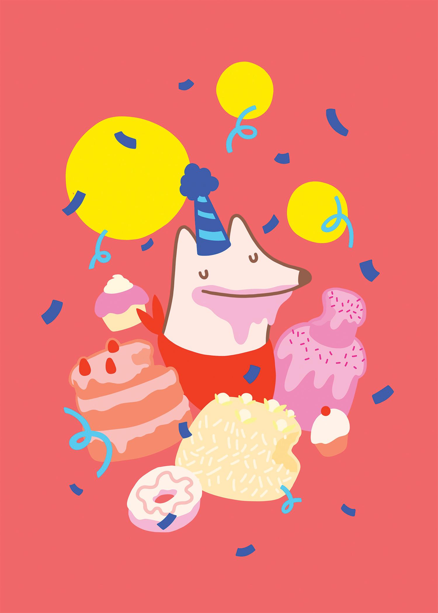 Birthday Barks
