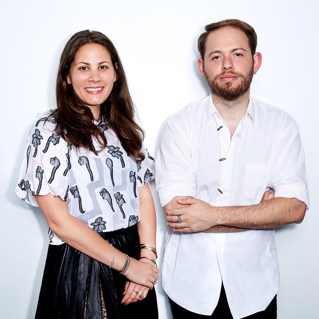 Sarah Leff CEO and Creative Director Jonathan Cohen