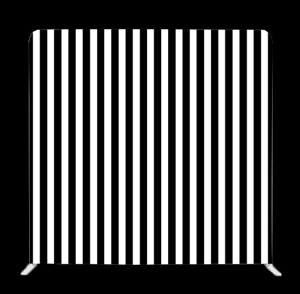 Black & White Striped