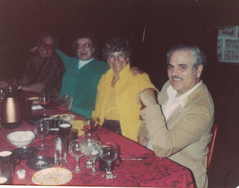 1979 Uncle Fred & Aunt Betty Barilla