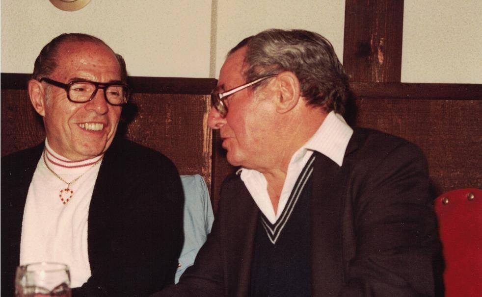 1984 - Grandpa with brother Tony