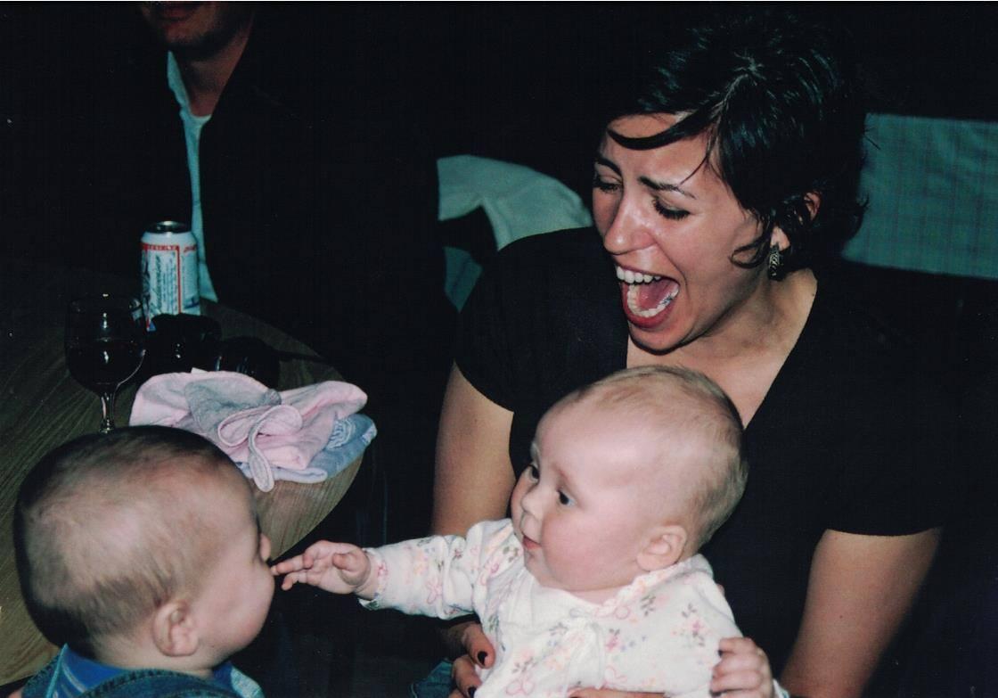 2006 - Katie with Delilah & Simon