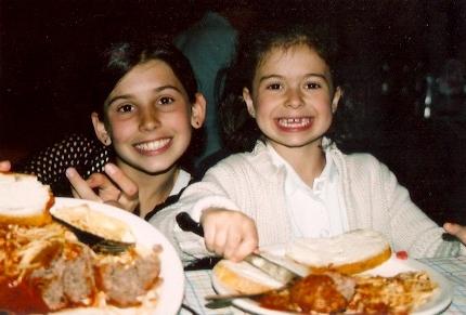 2006 - Olivia and Bella