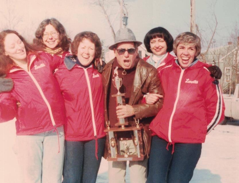 1977 - the Lonetti Women's Team