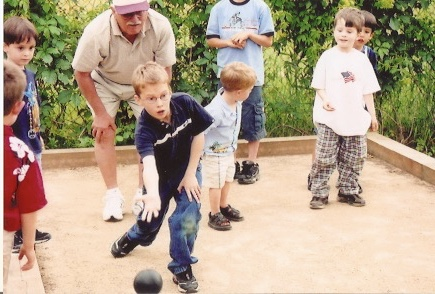 2004 - James shooting as a Small Fry