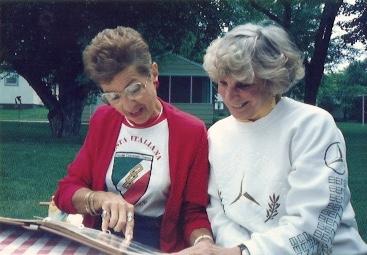 1992 - Aunt Betty & Aunt Ce