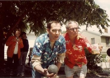 1982 - Chick shoots, Grandpa instructs