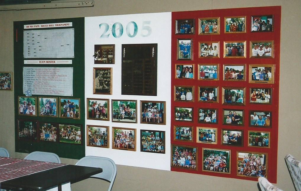 2005 - Display in Gary's garage