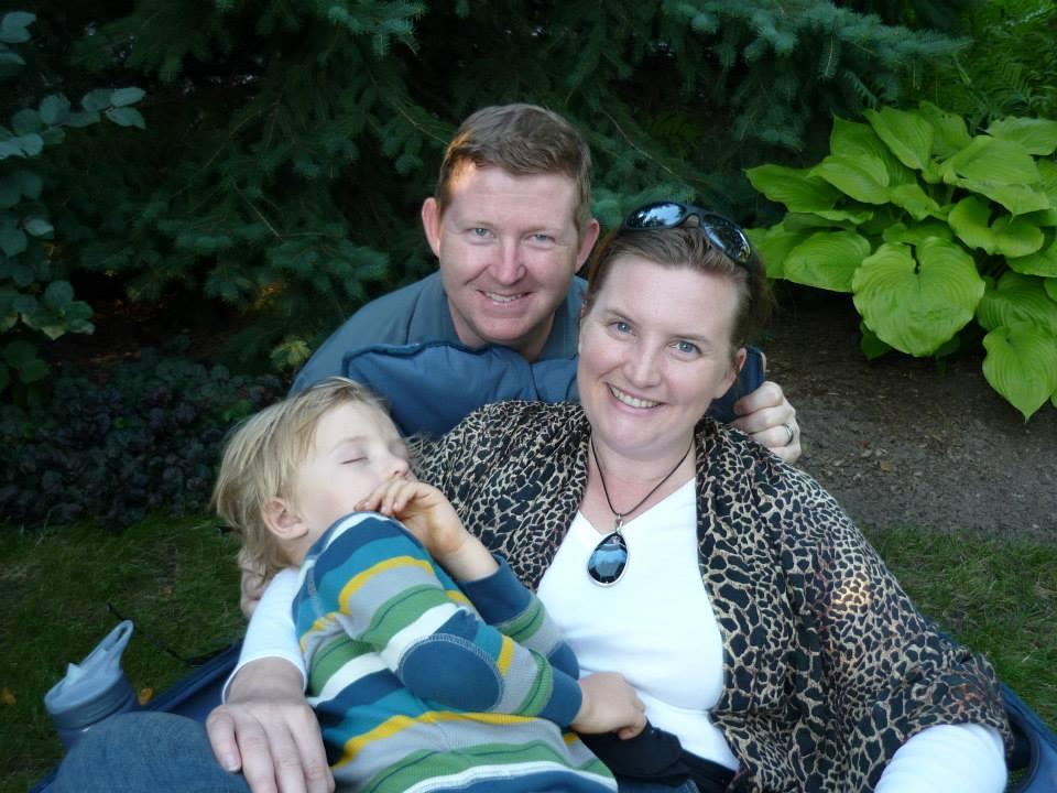 2014 - Dan, Liz and Quin