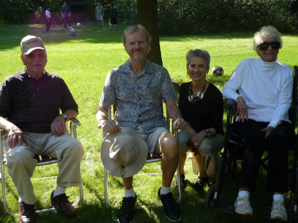 2014 - The Barillas: Fred, Rob, Sue and Betty