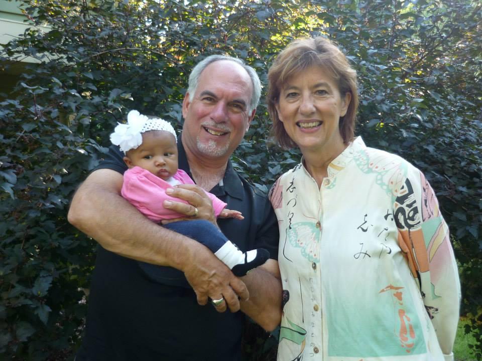 2014 - Steve, Mary and granddaughter, Charlotte