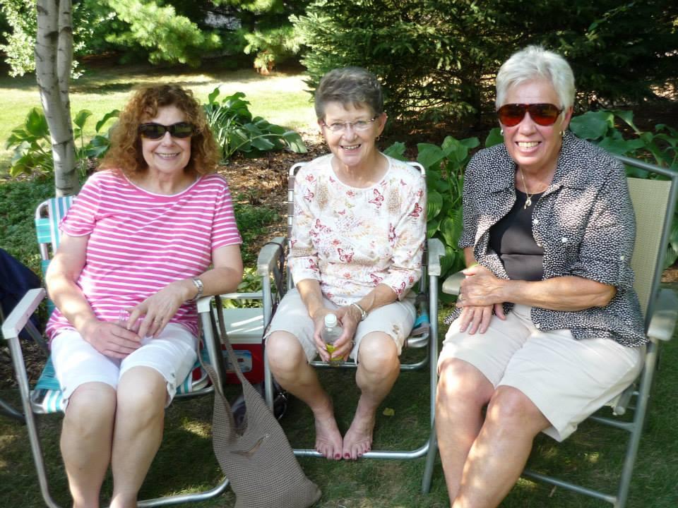 2013 - Geri, Mary and Claudia