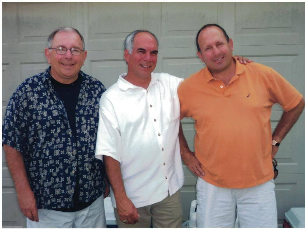2009 - Jim, Steve and Mark